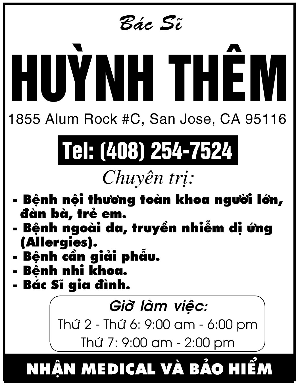 Huynh Them, M.D.